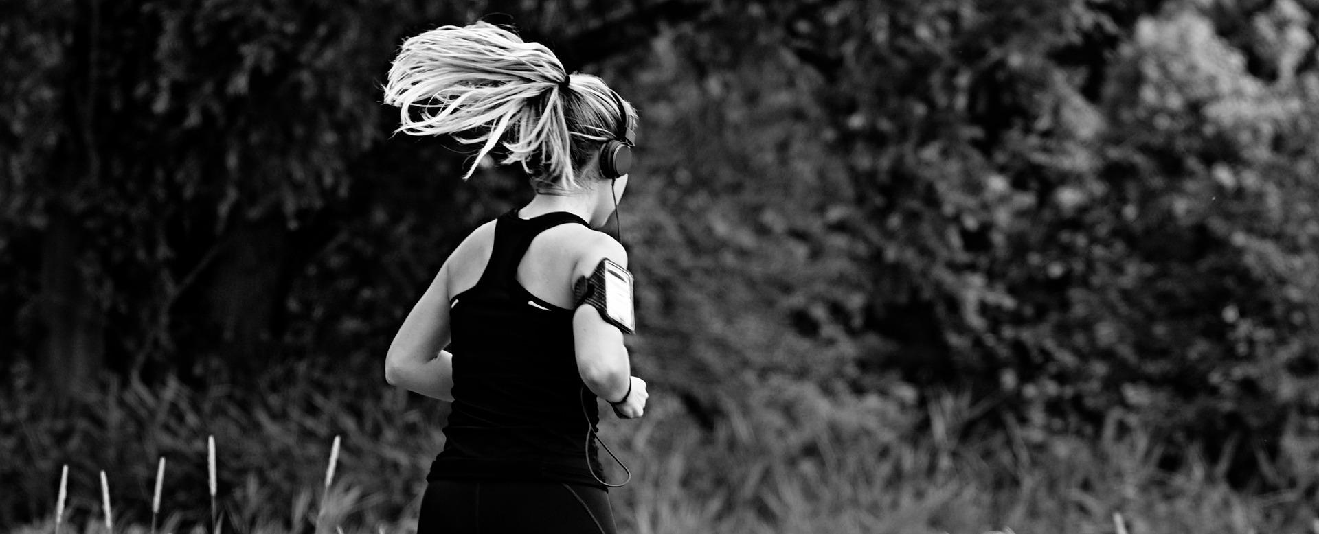 Woman Running - Healthy Heart